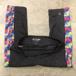 "Pants - Lularoe ""Jade"" Medium Workout Capri Pants"